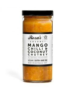 Mango Chilli Coconut Chutney